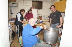 Narrensuppenküche im Kogl. Liebe Köchinnen und Köche, herzlichen Dank für eure Unterstützung.