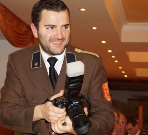 Pressereferent Andreas Buchmasser im Eionsatz - Gratuliere zu eurer guten Öffentlichkeitsarbeit!