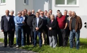 die Workshopteilnehmer vor der neuen Biologischen Station