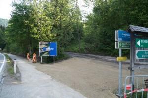 Rastplatz und Wanderausgangspunkt