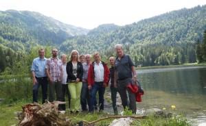 Unsere Gäste zeigten sich vom Seetal und dem Obersee begeistert!